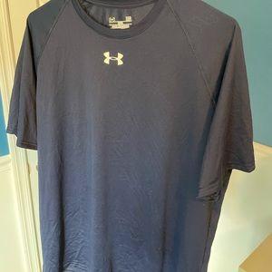 Under Armour Men's T-Shirt, L, Navy
